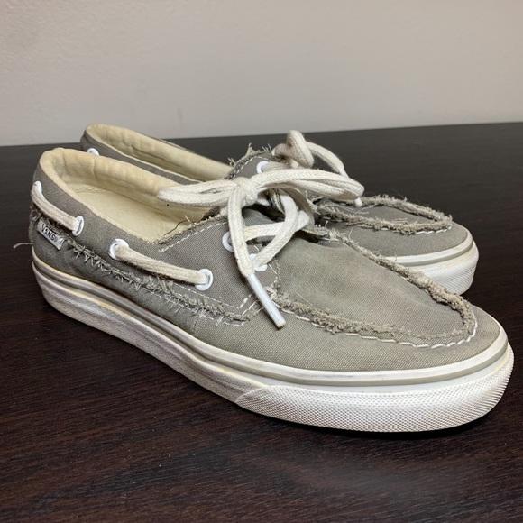 Vans Shoes | Grey Zapato Del Barco Vans